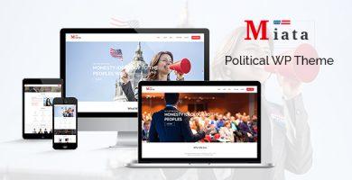 قالب Miata - قالب سیاسی وردپرس