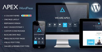 قالب Apex - قالب وردپرس ریسپانسیو