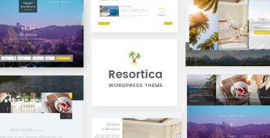 Resortica - قالب وردپرس هتل