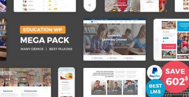 قالب Education Pack - قالب وردپرس آموزشی