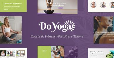 قالب Do Yoga - قالب وردپرس باشگاه یوگا و تناسب اندام