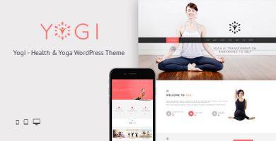 قالب Yogi - قالب وردپرس سلامتی و زیبایی و یوگا