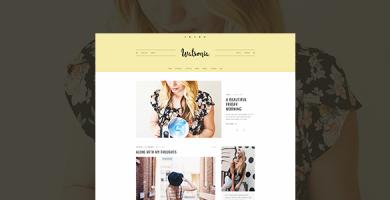 قالب Watsonia - قالب وبلاگ وردپرس