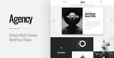 Agency - قالب وردپرس چند منظوره خلاقانه