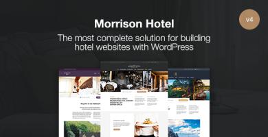 قالب Morrison Hotel - قالب وردپرس رزور هتل