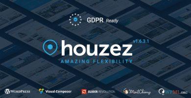 هوزیز | Houzez - قالب دایرکتوری املاک