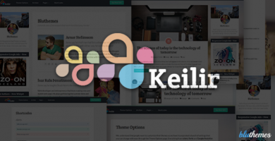 قالب کیلیر | Keilir - قالب وبلاگ وردپرس شخصی