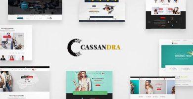 قالب Cassandra - قالب وردپرس رتینا
