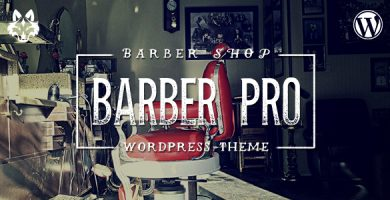 قالب Barber Pro - قالب وردپرس آرایشگاه