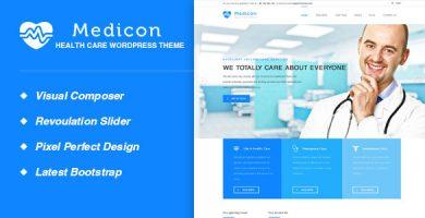 قالب Medicon - قالب سلامتی و پزشکی وردپرس