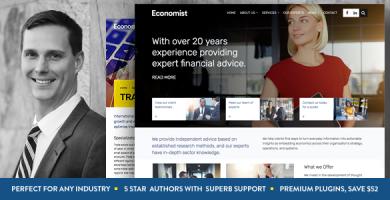 اکونومیست | Economist - قالب وردپرس شرکتی و فروشگاهی