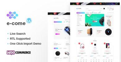 ایکام | Ecome - قالب وردپرس فروشگاهی