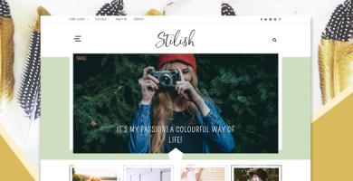 قالب Stilish - قالب وبلاگ وردپرس ریسپانسیو