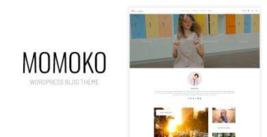قالب Momoko - قالب وبلاگ وردپرس شخصی