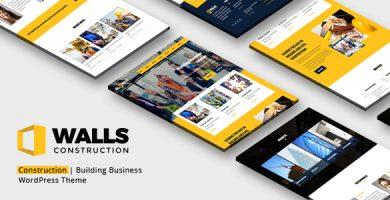 Walls WP - قالب وردپرس ساخت و ساز