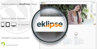 قالب Eklipse - قالب وردپرس نرم افزار