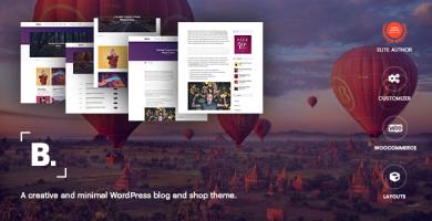 قالب Bianco - یک قالب وبلاگ و فروشگاه وردپرس