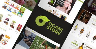 قالب Ogani - پوسته وردپرس غذای ارگانیک