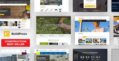 بیلدپرس | BuildPress - پوسته وردپرس ساخت و ساز و معماری