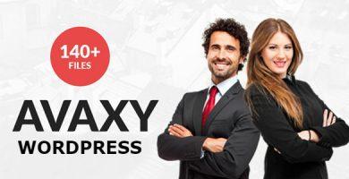Avaxy - قالب چند منظوره وردپرس