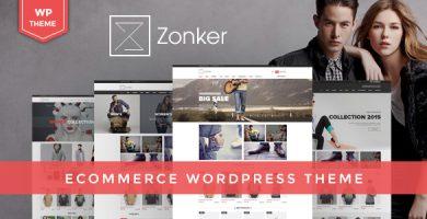 Zonker - قالب وردپرس ووکامرس