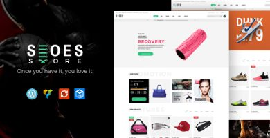 Trueshoes - قالب وردپرس فروشگاهی