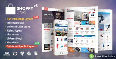 قالب شاپی استور | ShoppyStore - قالب فروشگاهی ووکامرس