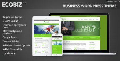 قالب ECOBIZ - قالب وردپرس کسب و کار