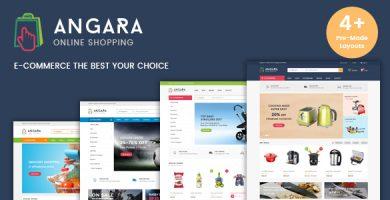 Angara - قالب وردپرس فروشگاهی