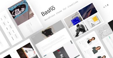 قالب Basho - قالب وردپرس ویژه فریلنسرها