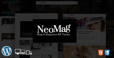 قالب NeoMag - قالب وردپرس وبلاگ و مجله