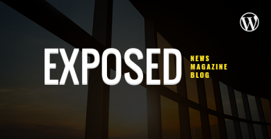 قالب Exposed - قالب وردپرس مجله ی خبری و وبلاگ