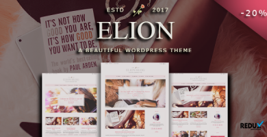 قالب الیون | Elion - قالب وبلاگ وردپرس شخصی