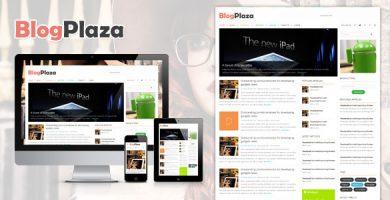 قالب BlogPlaza - قالب وردپرس ریسپانسیو