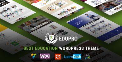 قالب EduPro - قالب وردپرس آموزشی حرفه ای