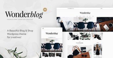 قالب Wonderblog - قالی بلاگ و فروشگاه وردپرس