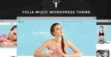 قالب Yolia - قالب وردپرس سالن ماساژ