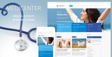 مدی سنتر | MediCenter - قالب وردپرس کلینیک پزشکی