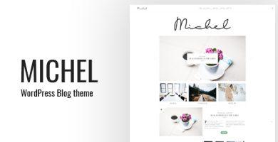 قالب Michel - قالب وبلاگی ساده وردپرس