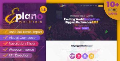 قالب Eplano - قالب وردپرس رویداد و کنفرانس