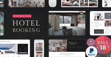 قالب Hotel Booking - قالب وردپرس هتل