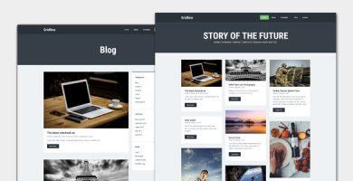 قالب Gridline - قالب وردپرس وبلاگ و مجله