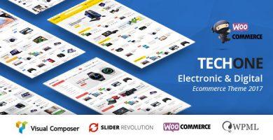 تچ وان | TechOne - قالب ووکامرس چند منظوره