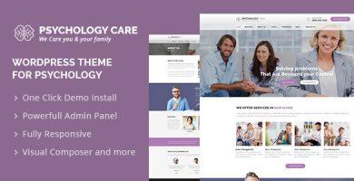 قالب Psychology Care - قالب وردپرس روانشناسی و مشاوره