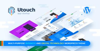 قالب یوتاچ | Utouch Startup - قالب چند منظوره استارت آپی