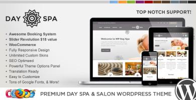 قالب WP Day - قالب وردپرس سالن زیبایی و اسپا