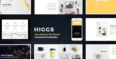 قالب Higgs - قالب وردپرس قدرتمند
