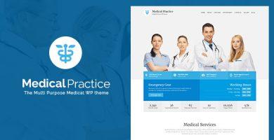قالب Medical Practice - قالب وردپرس برای وب سایت کلینیک