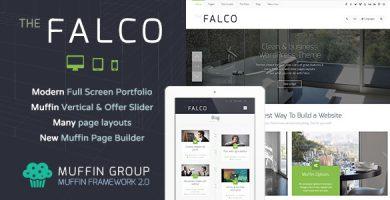 فالکو | Falco - قالب وردپرس چند منظوره ریسپانسیو
