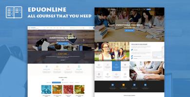 Eduonline - قالب وردپرس آموزشی و دانشگاهی